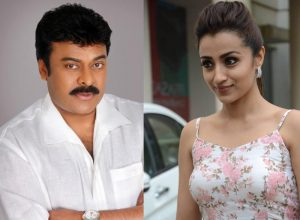 Trisha may pair up with Chiranjeevi after 13 year break
