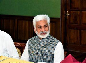 AP will approach SC on Nimmagadda Ramesh order : Vijayasai Reddy
