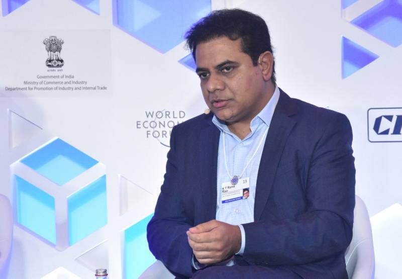 KTR at World Economic Forum India summit : Calls for stronger states