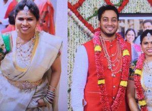 Former AP Minister Akhila Priya's Husband booked