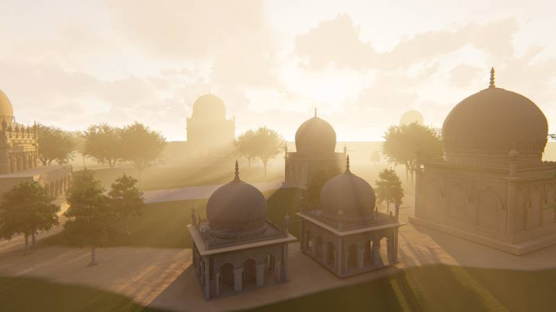 IIT- Hyderabad creates 360 degree virtual reality of Qutb Shahi tombs