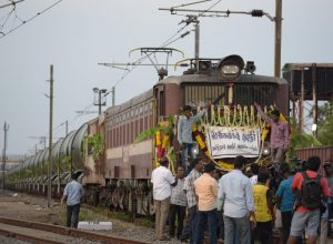 Water train from Jollarpettai makes final journey to Chennai on Tuesday