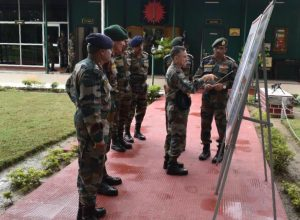GOC-in-Chief Eastern Command visits Gajraj Corps