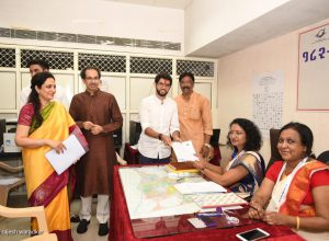 Aditya, first Thackeray to contest elections