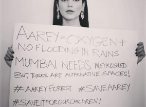 Shruthi Haasan's sarcastic take on Aarey forest receives flak