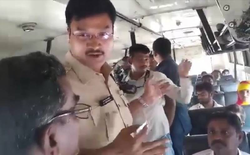 Telangana RTC Strike Day 7: Private bus employees arrested for cheating passengers