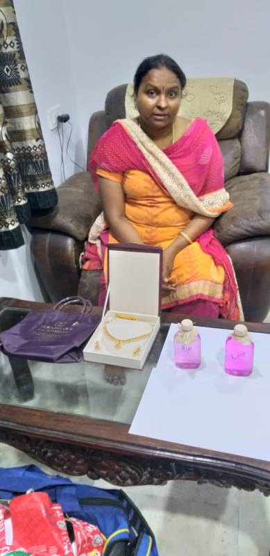 Woman drug inspector in ACB trap; Caught accepting gold necklace as bribe