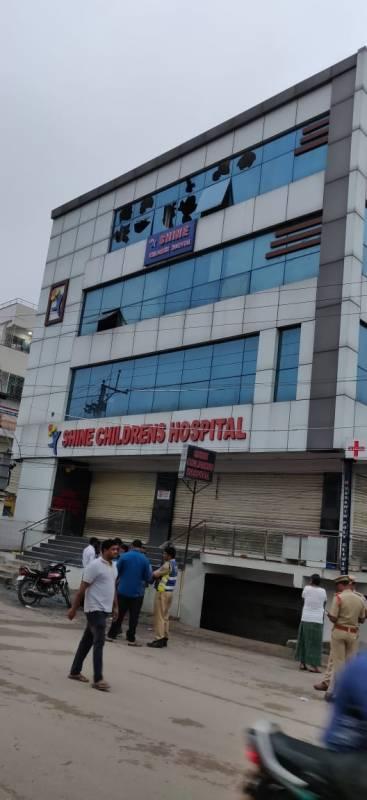 42 kids in Shine hospital when fire broke out