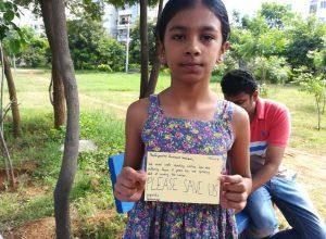 Hyderabad township's children register protest via postcards to Telangana CM