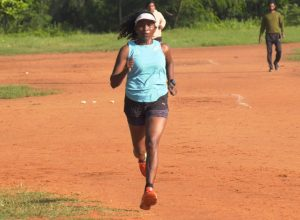 The Podium finisher – Babitha Xavier