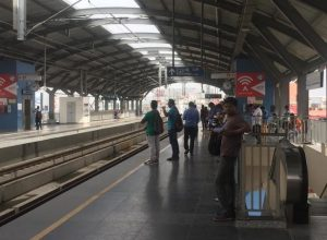 Metro services restored after 4 hours shut down at Begumpet