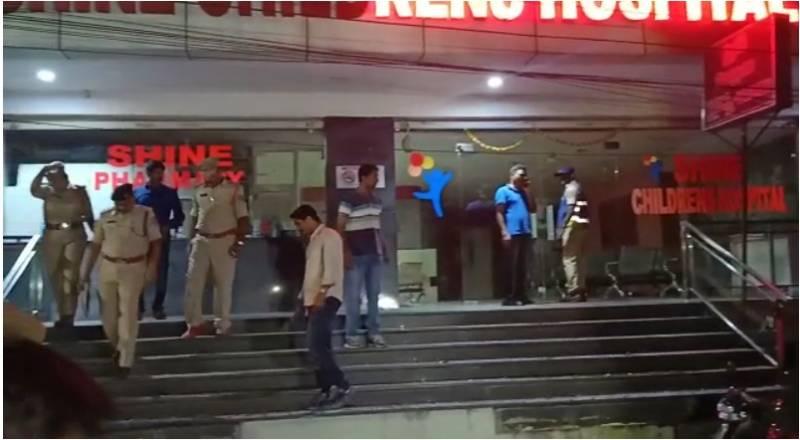 Hyderabad: Short circuit at Shine Hospital kills newborn