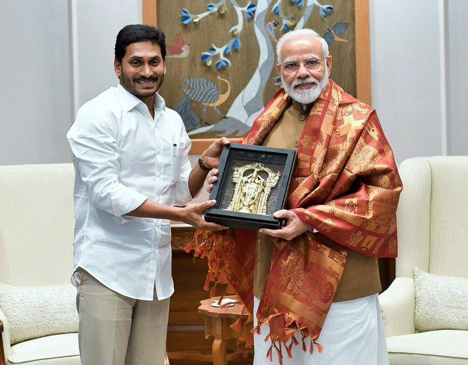 Andhra Pradesh CM Jagan meets Modi, seeks financial assistance