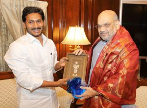 Andhra Pradesh CM Jagan asks support from centre in his meeting with Shah