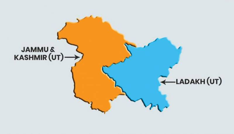 J&K, Ladakh to become Union Territories on Thursday