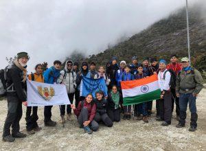 14 Indus International School's students summit Mt Kinabalu