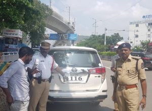 Hyderabad traffic police booked 493 cases in a single day