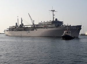 USS Emory S. Land arrives at Vizag on goodwill visit
