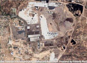 Satellite Imagery of Hyderabad's Jawaharnagar dumpyard reveals city's waste dilemma