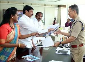 YSRCP MLAs meet DGP Goutham Sawang to complain against abusive social media posts