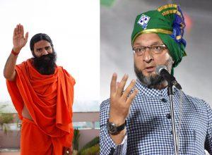 Owaisi has a lyrical response to Baba Ramdev's 'dharti pe bojh' jibe