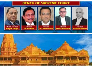 Supreme Court clears Ram Mandir at Ayodhya