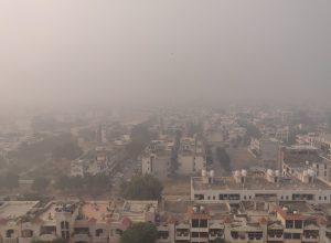 Dense fog disrupts operations at Delhi airport, delays trains
