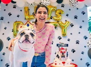 Samantha Akkineni writes a tearfilled note about her first pet dog 'Bugabo'