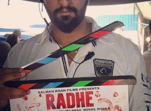 Salman Khan makes his bodyguard's son an assistant director for Prabhu Deva's Radhe