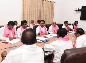 KTR replaces KCR to chair TRS Parliamentary party meeting
