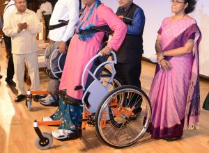 IIT Madras launches India's first indigenously designed 'Standing Wheelchair'
