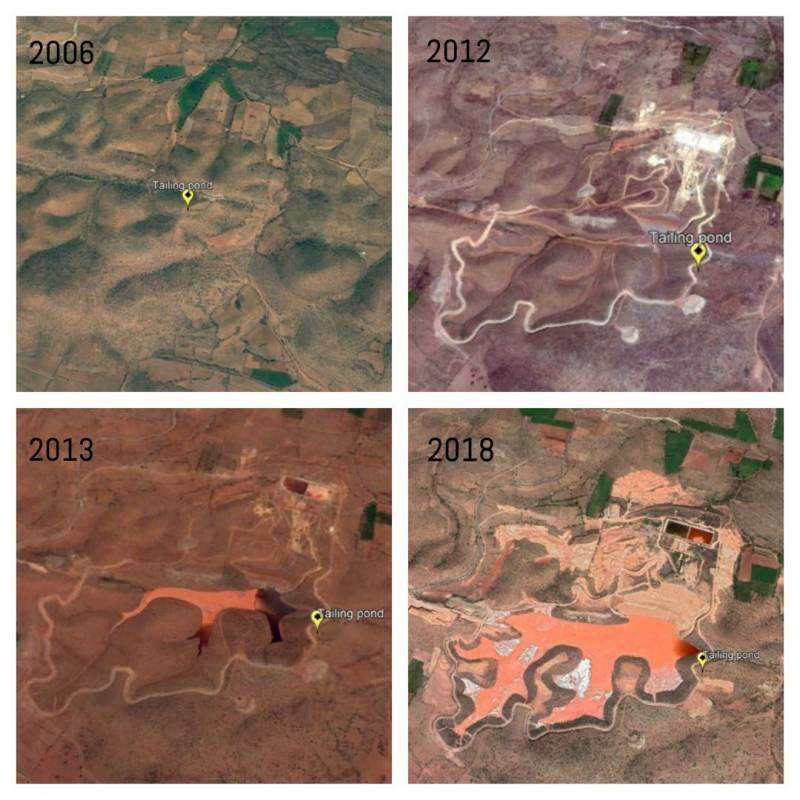 A view from the satellite: Kadapa turns into a uranium cemetery