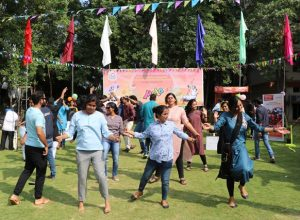 Trainee officers let their hair down at the MCR HRD Institute in Jubilee Hills