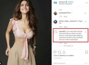 Vaani Kapoor receives backlash for her outfit, deletes post later