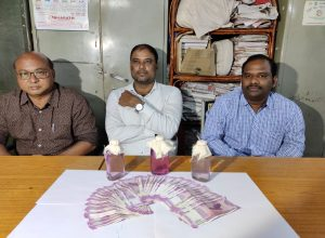ACB catches GHMC officer and two media persons for accepting bribes