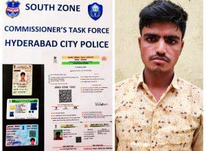Hyderabad police nabs Rohingya refugee who faked Aadhar, Voter ID
