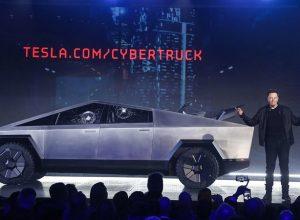 Tesla's Cybertruck 'Armour Glass' demo goes wrong