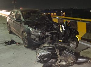 High-speed drunk driver kills two and injures two at the newly-inaugurated flyover in Hyderabad