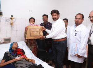 Actor Balakrishna helps sick cancer patient from Anantapur through his hospital