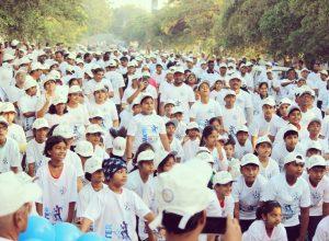 Alkapur residents conduct 3K Run demanding safe drinking water