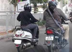 Hyderabad armed policeman violates traffic rules six times and goes scot free