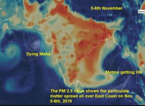 Air Quality to hit 200-300 in Tamil Nadu, as Delhi's deadly air likely to move down South