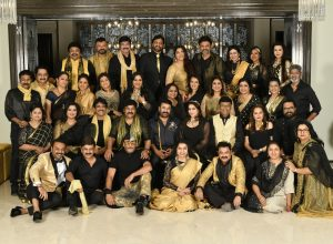 'Class of 80s' meets at megastar Chiranjeevi's house in Hyderabad