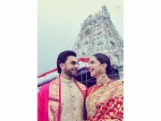 DeepVeer reach Tirupati Devasthanam to ring in first wedding anniversary celebrations
