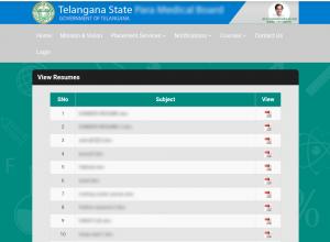 Telangana Govt website leaks 1,100 resumes of job-seekers