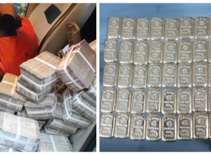In a huge haul, Hyderabad DRI unearth 4 kgs of smuggled gold; 1.99 Cr concealed in a car