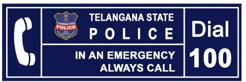 Telangana Police Dial 100 received 13.34 lakh calls since lockdown