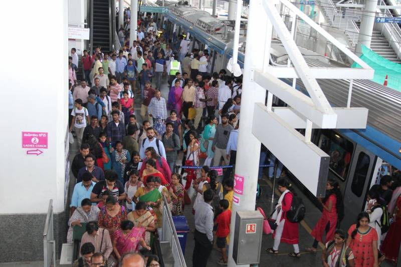 Hyderabad metro becomes second largest metro network in the country