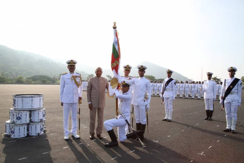 President's Colour crowns INA's golden jubilee