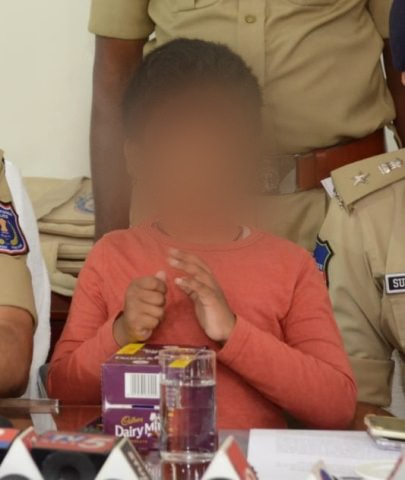 Juvenile kidnaps minor for Rs 3 lakh ransom, Rachakonda cops nab him in 4 hours